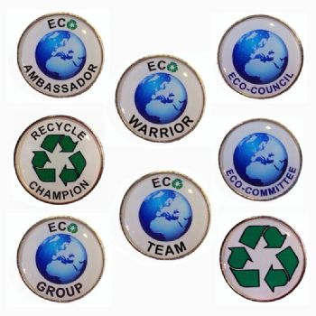 Eco Badges Round
